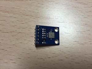 Sensor BMP085 conectado a una Raspberry Pi Model A+