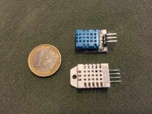 Sensores de humedad y temperatura DTH11 y DTH22